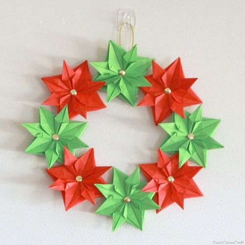 Christmas Origami for Kids - Easy Peasy and Fun