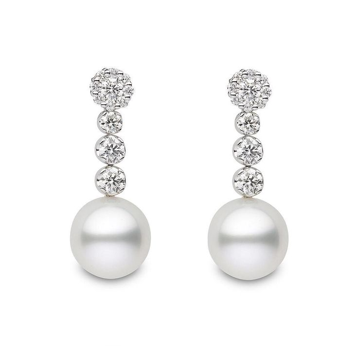 South Sea pearls are among the largest commercially harvested cultured pearls in the world. The average size of a South Sea pearl is 13 mm with most harvests producing a range of sizes from 9 mm to 20 mm!