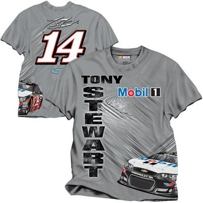 Chad would like this shirt. -- Tony Stewart race time t-shirt