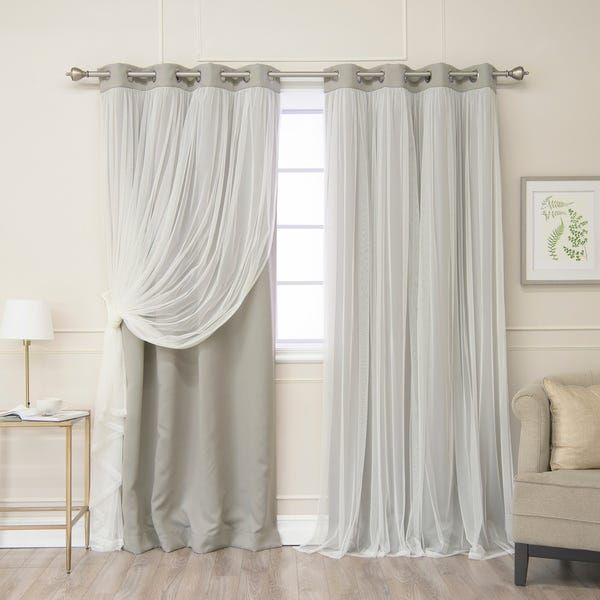 Overstock Com Online Shopping Bedding Furniture Electronics Jewelry Clothing More In 2020 Layered Curtains Cool Curtains Panel Curtains