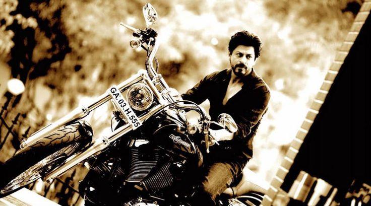 Rohit Shetty gifts Shah Rukh Khan a new ride u2013 Harley Davidson ...