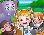 Em Bebê Hazel Aprendendo com os Animais, a linda Bebê Hazel e seus amiguinhos vão ter uma nova e divertida aula na selva. Eles vão aprender e conhecer os animais. Junte-se a eles e participe de várias atividades e tarefas. Divirta-se com Bebê Hazel!