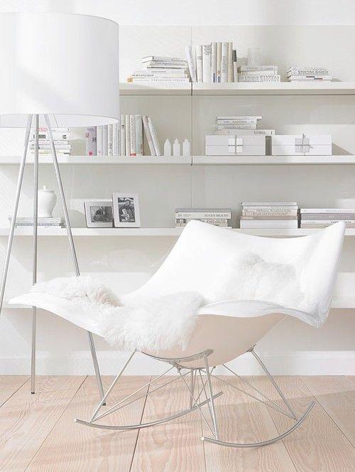 white on white interiors