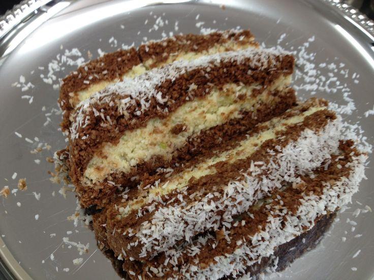 Kakaós – pudingos szelet – Csodafinom lett ez a süti, és készítés módja nagyon jól van leírva, elronthatatlan