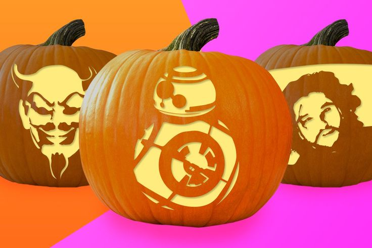 BB-8 Pumpkin Stencil and other Pop Culture stencils