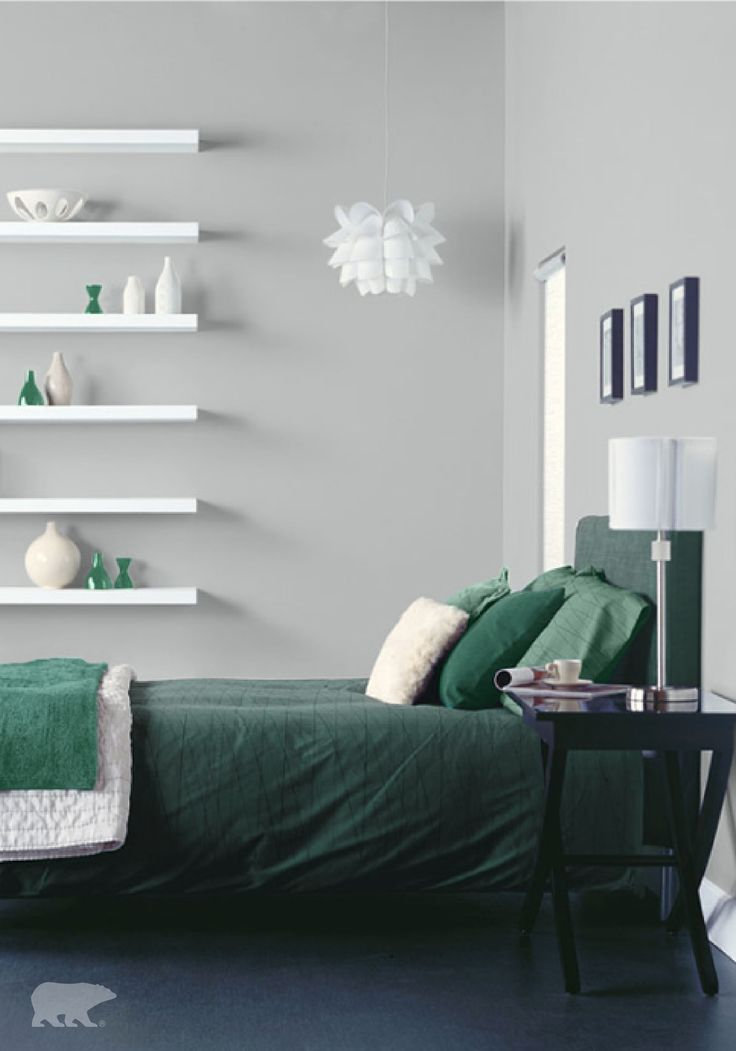 Wall Colour Inspiration: Who Doesn't Love A Design Style That Balances Sleek Lines