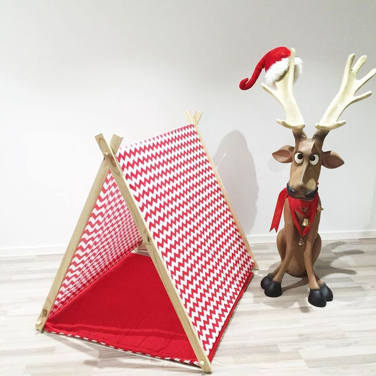 The ultimate colour play tent and reversible mat to wake up to on Christmas morning!  **Reindeer not included
