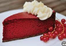 Image result for yummy red velvet cheese cake