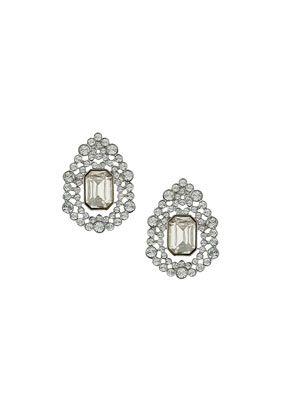 Teardrop Sparkle Stone Earrings