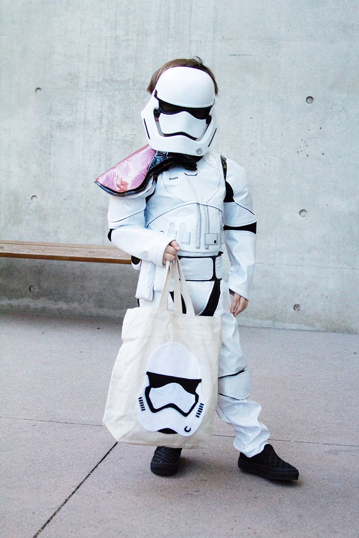 first order stormtrooper tote bag - Halloween Adventure Store