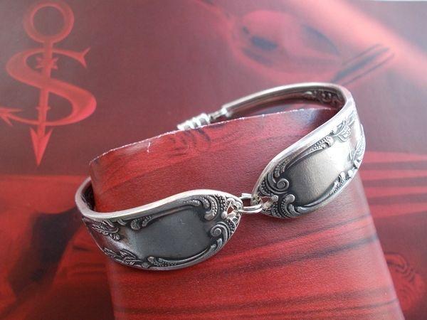 Besteckschmuck Armband * A11 Silberbesteck Anhänger Gabel Löffel Ring Collier