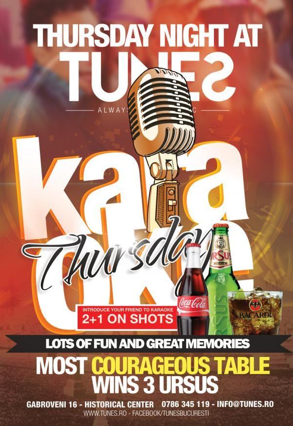 Karaoke Thursdays | PeLipscani.RO | Ghid dedicat Centrului Vechi | Petreceri in Bucuresti | Sambata seara | Centrul Istoric