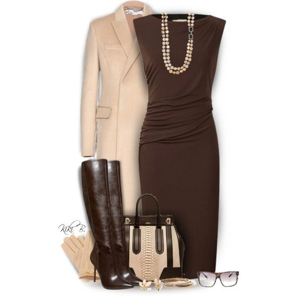 A fashion look from November 2014 featuring Planet dresses, STELLA McCARTNEY coats and Alice + Olivia boots. Browse and shop related looks.