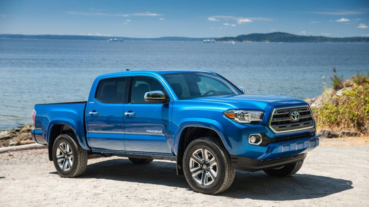 The all new 2016 Toyota Tacoma.  #toyota #4x4 BASE PRICE: $24,200 (2WD, SR, four-cylinder, Access Cab) to $38,720 (4WD, Limited, V6) DRIVETRAIN: 2.7-liter four-cylinder, RWD or 4WD, five-speed manual, six-speed manual, six-speed automatic; 3.5-liter V6, RWD or 4WD, six-speed manual, six-speed automatic   Read more: http://autoweek.com