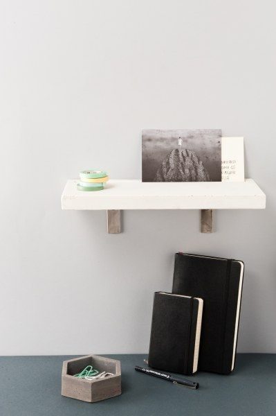 Vega shelf and Maya container Workplace | Desk | by LESS is HOME
