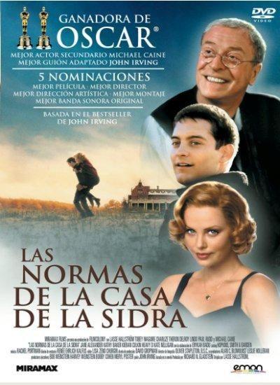 Las normas de la Casa de la Sidra (1999) EEUU. Dir: Lasse Hallström. Drama…                                                                                                                                                                                 Más