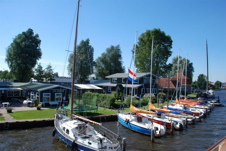 Camperplaatsen - Friesland - Jachthaven Lutsmond