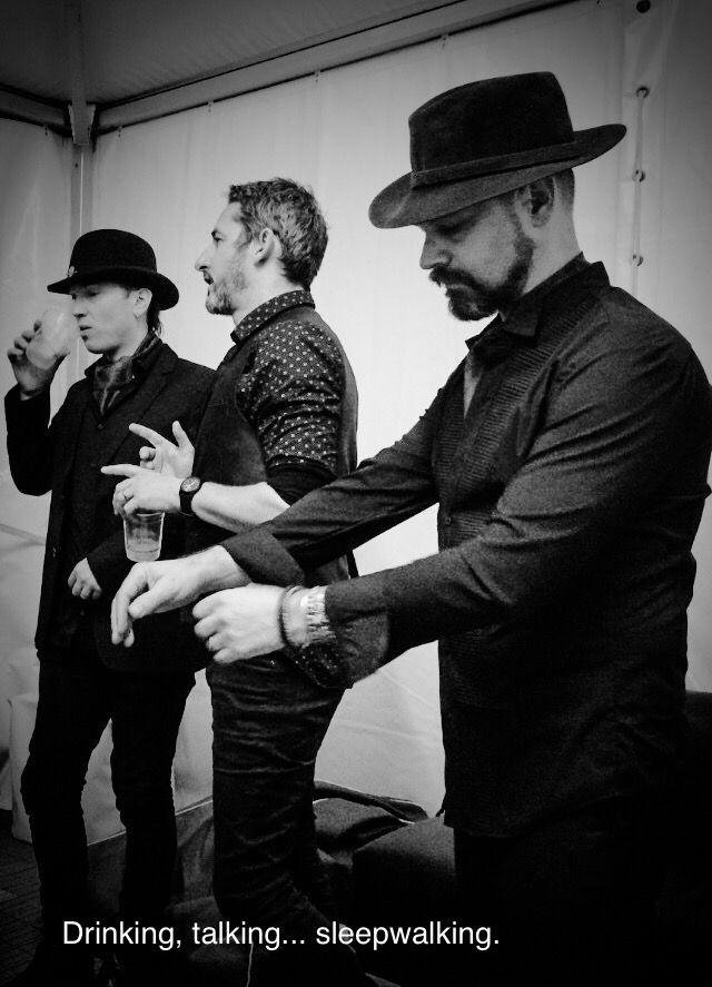 Matty, Darren and Brian