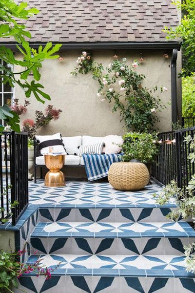 All Over - Outdoor Tile That Is Definitely Not For Squares - Photos