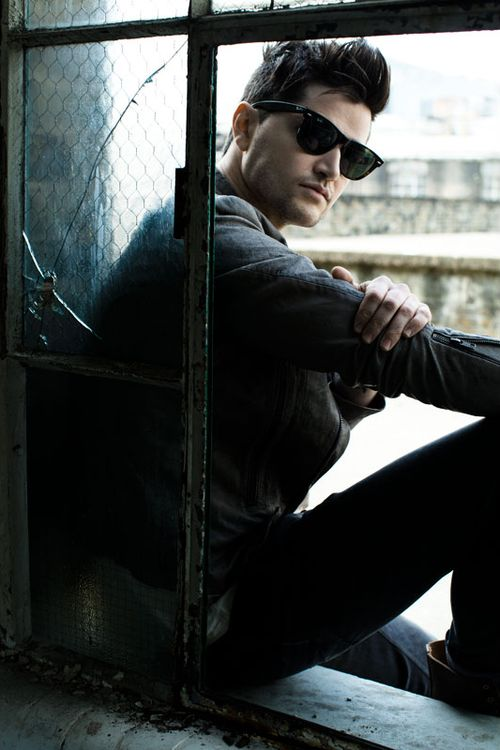 Danny O'Donoghue from the Script. I just absolutely love him. He's so talented and beautiful!!