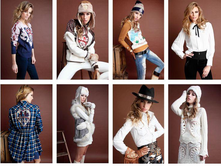 Lookbook West Love Story - Highly Preppy // Sudadera corazón + Blusa lazo + Vestido camisero cuadros