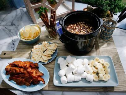 Sunny's Peanut Butter Chocolate Fondue Recipe   Sunny Anderson   Food Network