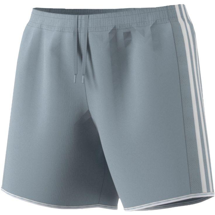 Women's Adidas Tastigo 17 Shorts, Size: Medium, Silver