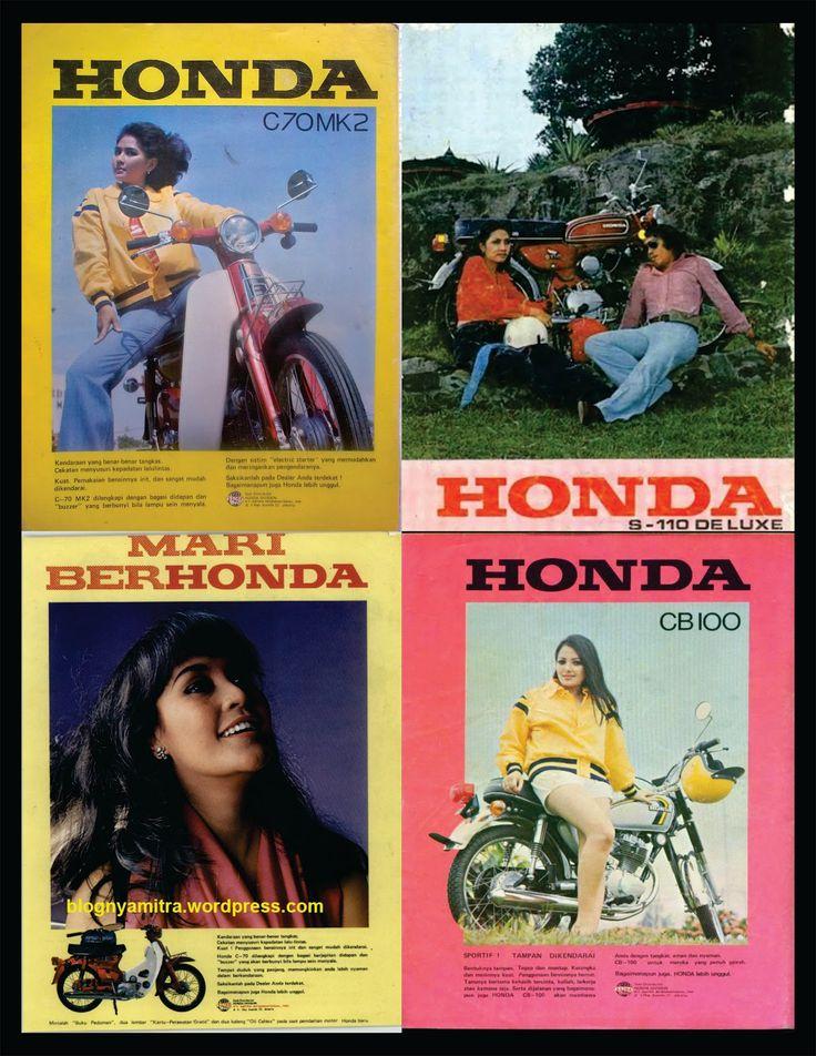 Honda C 70, S 110 & CB 100
