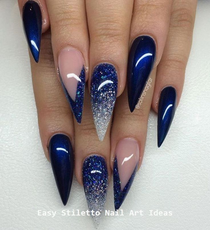 30 große Stiletto Nail Art Design-Ideen # Stilettonails