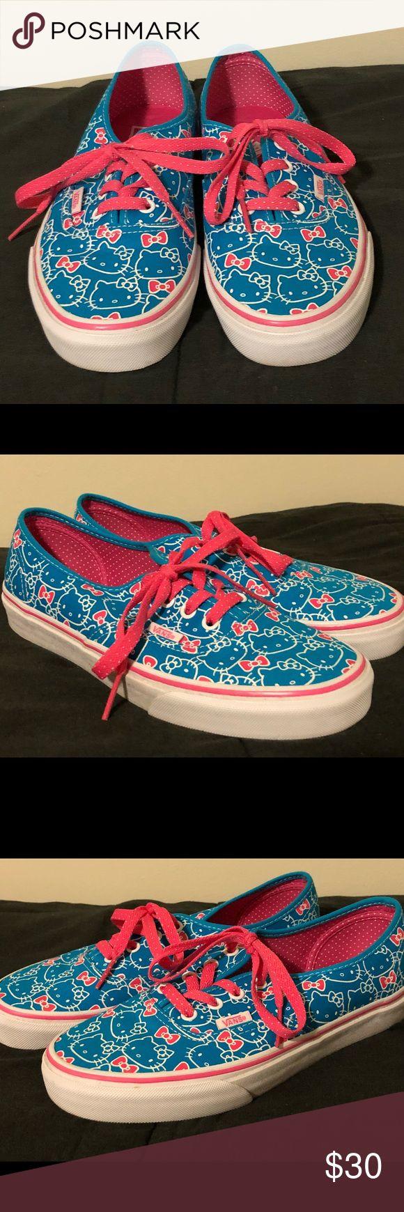 I just added this listing on Poshmark: Hello Kitty Vans. #shopmycloset #poshmark #fashion #shopping #style #forsale #Vans #Shoes