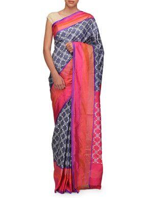 Buy Ekaya Benaras sarees on BYELORA.com