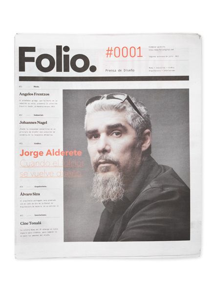Folio. by Face. via Behance