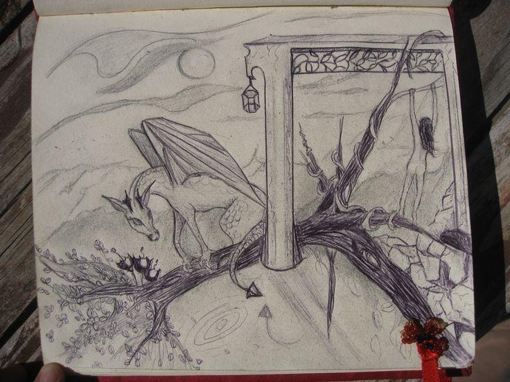 magic drawing.