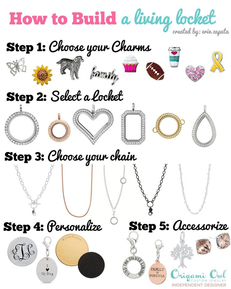 Origami Owl: How to design your Living Locket! www.CharmingLocketsByAline.OrigamiOwl.com
