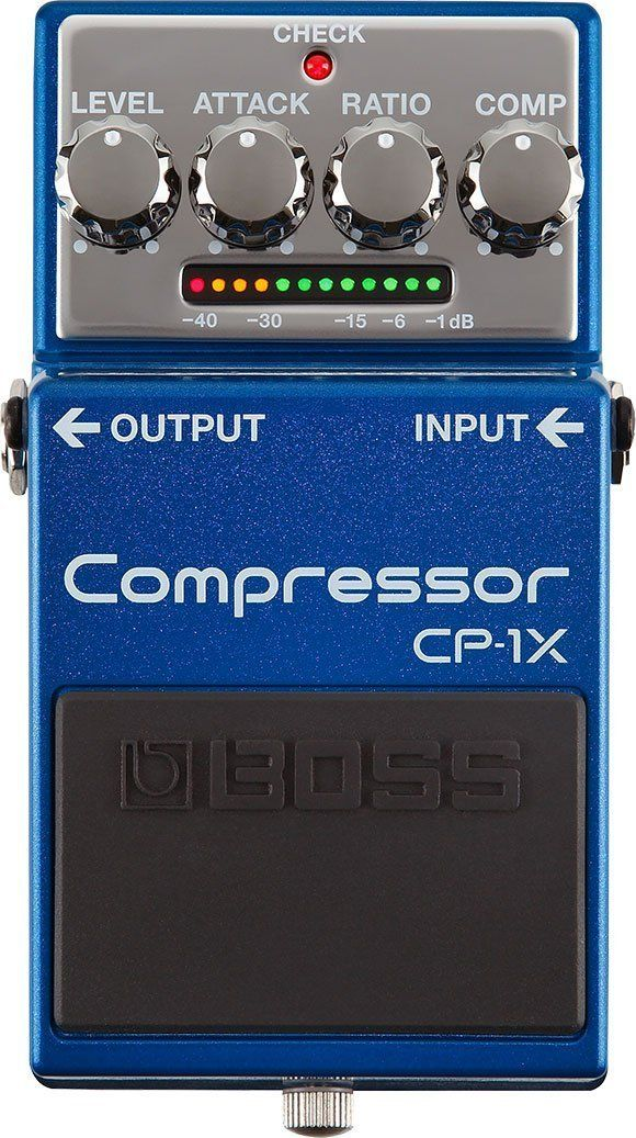 Boss Cp 1x Compressor Guitar Effects Pedal Perfomers Guitar Effect
