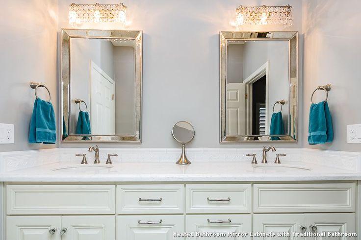 Heated Bathroom Mirror Cabinets