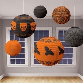 Halloween Party Paper Lanterns