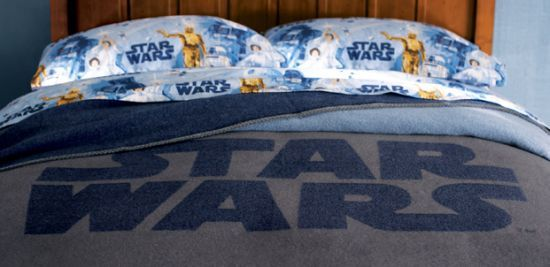 For old guy nerds:  Star-wars-Bed-Sheet
