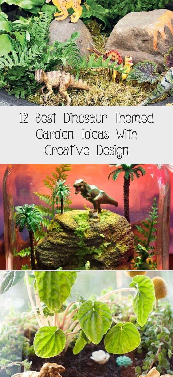 12 Best Dinosaur Themed Garden Ideas With Creative Design