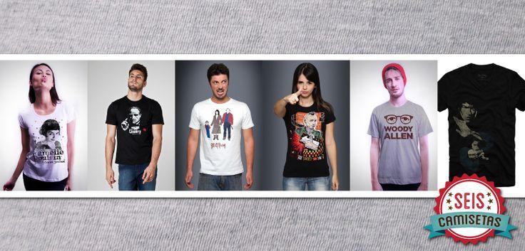 Seis Camisetas para quem ama cinemaT-shirt News | T-shirt News
