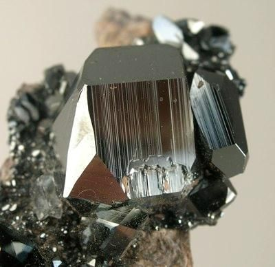 Hematite, Wessels Mine, Hotazel, Kalahari manganese fields, Northern Cape Province, South Africa. Size 5.1 x 2.2 x 1.8 cm