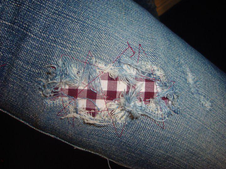 best 10 patching jeans ideas on pinterest. Black Bedroom Furniture Sets. Home Design Ideas