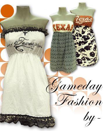 More gameday shirt/dresses