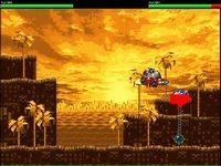 Старые враги, ловкий ёжик Соник и злой преступник Роботник на гиперлеталках участвуют в грандиозной дуэли.