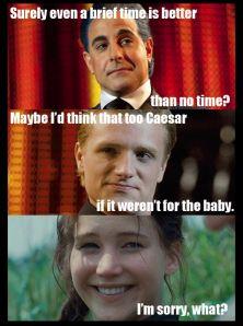 Hunger Games pregnancy Hahahahahahahahahahahahahahah!!!!!