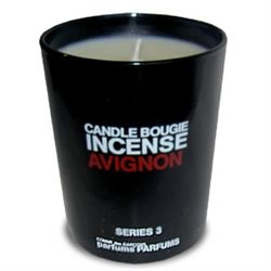 Comme des Garcons Series 3 Incense: Avignon Candle with notes of Roman Camomile, Cistus Oil and even more.