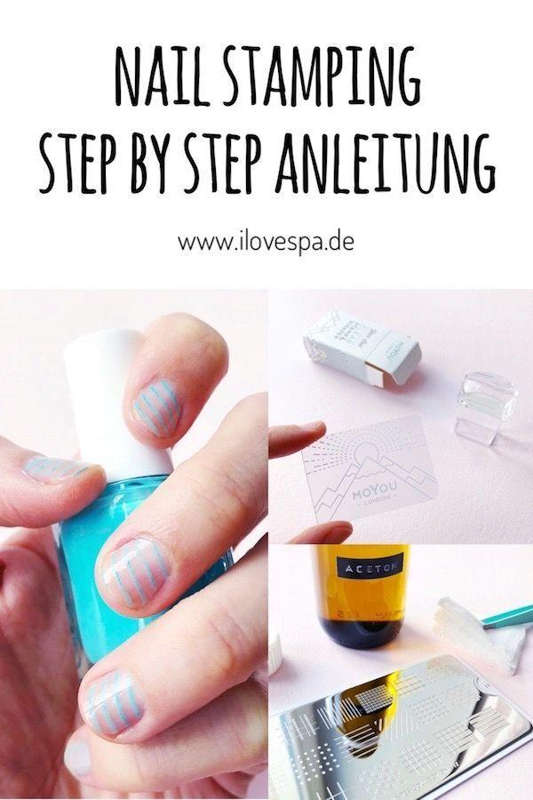 Nägel Design schlicht – Hier findet ihr eine Step by Step Anleitung zum Thema N… – #Anleitung #Design #eine #findet #Hier