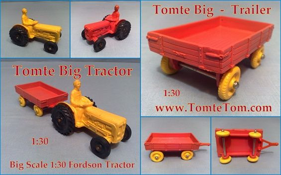 Tomte Big Tractor & Trailer