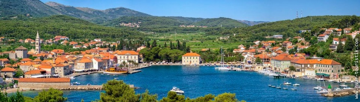 "Jelsa, Hvar Island / ""The whole object of travel is not to set foot on foreign land; it is at last to set foot on one's own country as a foreign land."" (G.K.Chesterton)"