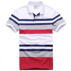 Diadora Men s short-sleeved polo shirt collar Slim f6c09410b7e75